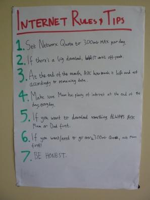 Internet Rules