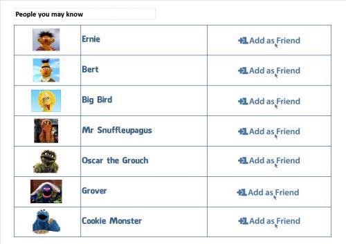 FB Friends Sesame Street