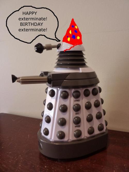 Birthday Dalek
