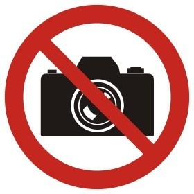no photographs