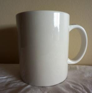 White Album Mug
