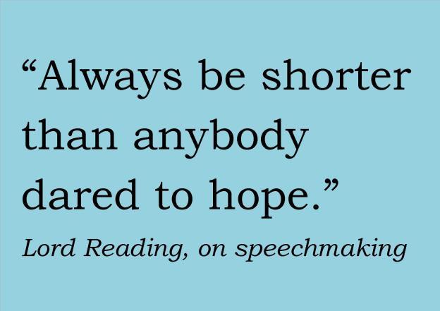 Speechmaking