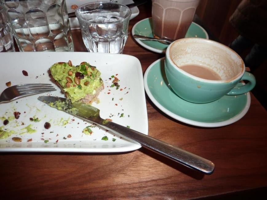 Coffee and Avocado Smash - An Aussie Café Tradition