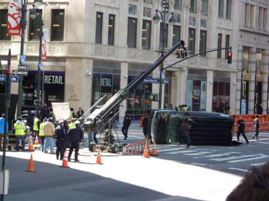 NY Movie Set