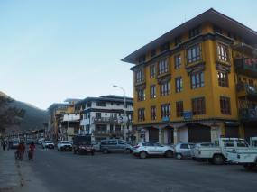 Main street, Paro