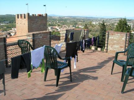 Never underestimate the beauty of somewhere to wash and dry your clothes.