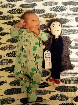 A Boy and his Doctor (Photo used with permission.)
