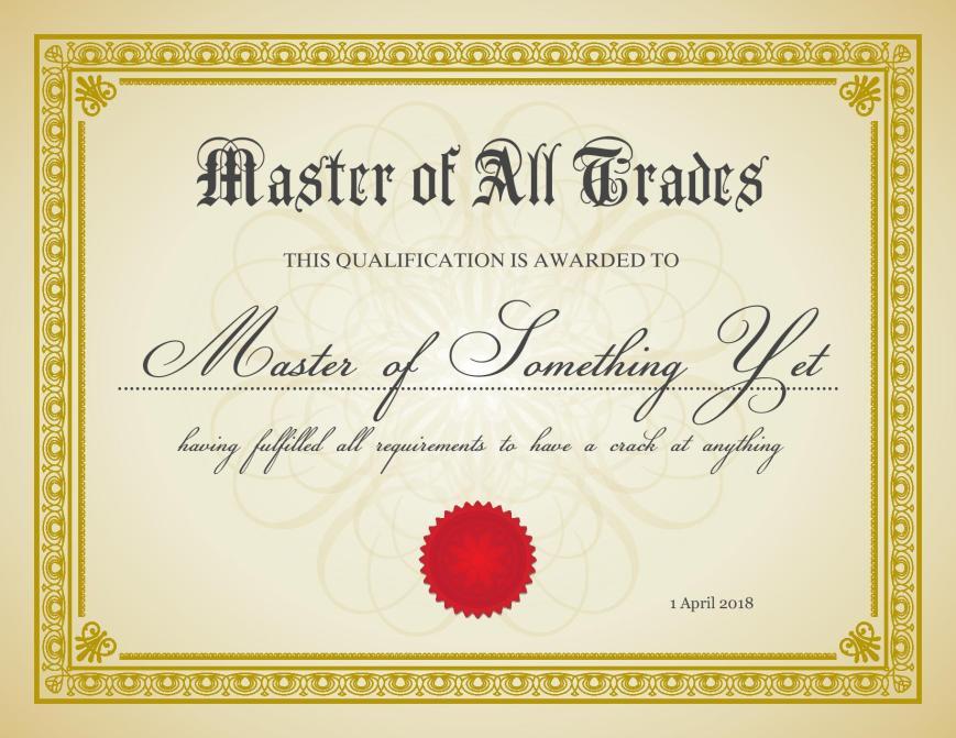 MofAT certificate
